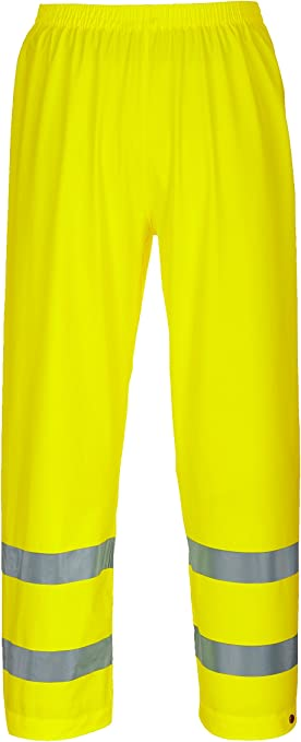 Brite Safety High Visibility Rain Pants ANSI Class E Compliant Waterproof Work Wear For Men and Women