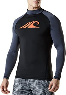 (テスラ)TESLA メンズ 長袖 ラッシュガード 水着 [UVカット UPF50+・吸汗速乾]スイムウェア