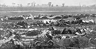 Pullman Strike 1894 Nthe Wreckage Of Railway Cars At A Chicago Illinois Rail Yard Photograph American 1894 Poster Print by...