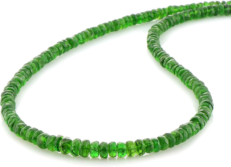 NirvanaIN Genuine New popularity Chrome Diopside Neck Stunning Discount is also underway Necklace Elegant