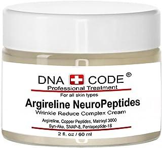 DNA Code-No Needle Alternative-Argireline NeuroPeptides Wrinkle Reduce Cream w/Matrixyl 3000, Syn-Ake, SNAP-8, Copper Pept...