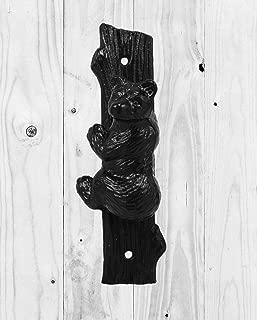 black bear door knocker