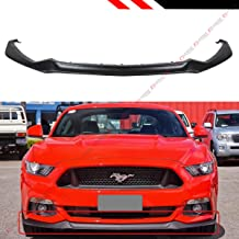 Fits for 2015-2017 Ford Mustang GT ECOBOOST GT Performance Style Front Bumer Lip Chin Spoiler Splitter