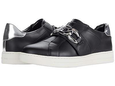 MICHAEL Michael Kors Kenna Sneaker (Black/Silver) Women