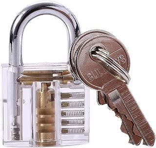 Happy Will Crystal Professional Visible Cutaway of Padlocks Lock for Locksmith / Hobbyist