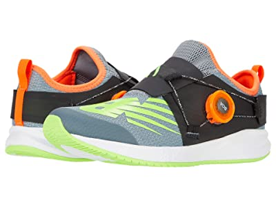 New Balance Kids FuelCore Reveal (Big Kid) (Steel/Energy Lime) Boys Shoes