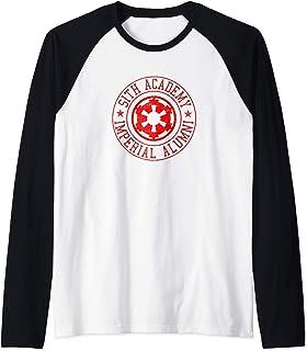 Star Wars Sith Academy Imperial Alumni Badge Manche Raglan