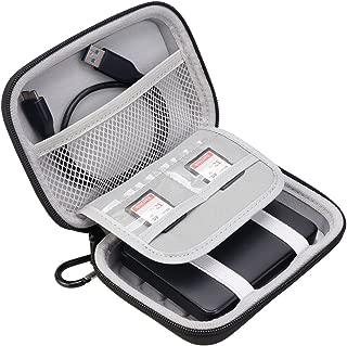 Lacdo Hard Shockproof Carrying Case for Toshiba Canvio Basics / Toshiba Canvio Advance / Seagate Expansion Backup Plus Portable External Hard Drive 4TB 3TB 2TB 1TB Large Size