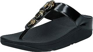 FitFlop Fino Metallic Fleck Stone Toe-Thongs womens Women Thong Sandals
