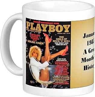 January 1954 Thru 2000 Playboy Magazine Covers on 11 Oz Coffee Mug (11 Oz) (1985)