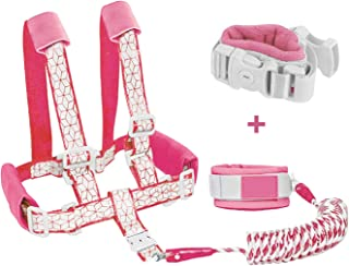 Borje Toddler Safety Leash & Harness, Kids & Child Safety Backpack Leash 2 in 1 New Version