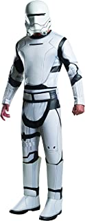 Deluxe Flametrooper Adults Fancy Dress Star Wars The Force Awakens Costume New
