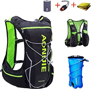 TRIWONDER Hydration Pack Backpack 10L Deluxe Running Race Hydration Vest Outdoors Mochilas for Marathon Running Cycling