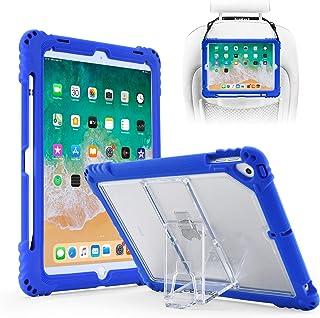 TopEsct Custodia per iPad 9.7 Cover (iPad 5th/6th Generazione, iPad Air,iPad Air 2, iPad PRO 9.7) Fornito con Cinturino, R...