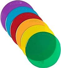 School Smart Spot Markers - 10 Diameter - Set of 6 - Assorted Colors