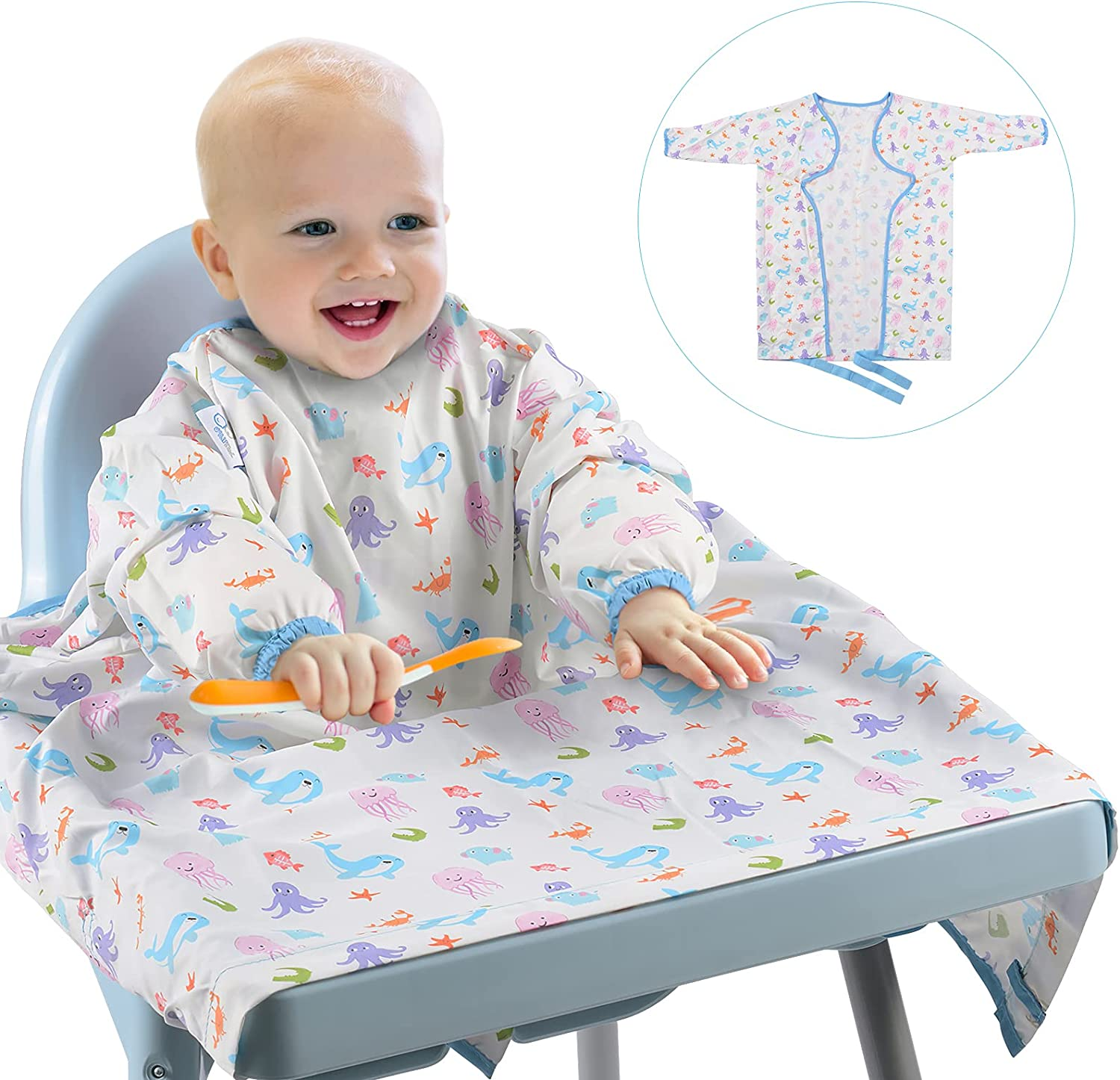 XCSOURCE Long Sleeved Bib Spasm price for latest Babies Toddlers 6-24 and Months