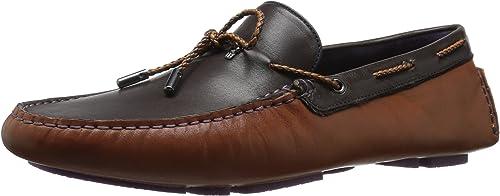 Ted Baker Men's MELATO LTHR AM Loafer, marrón tan, 8 M US