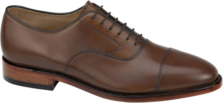 Johnston Murphy Men's Melton Cash special price Cap Dress Atlanta Mall Toe Shoe Formal