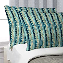 """Artzfolio Marine Pillow Cover Cases Silk Fabric 27""""X18"""";Single;Without Filler"""