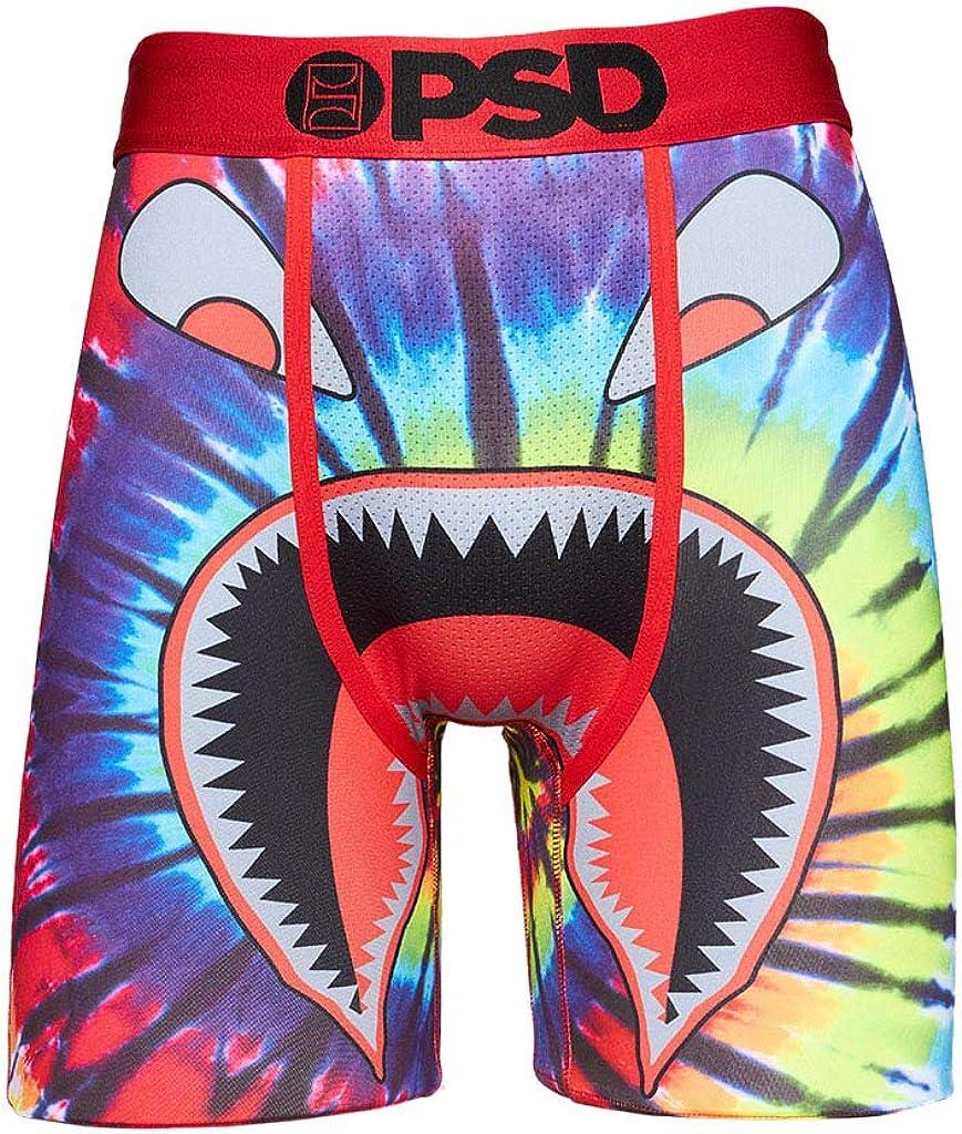 PSD Underwear Men's Warface Tie Dye Printed Boxer Brief