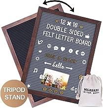 SOLEJAZZ Felt Letter Board 12