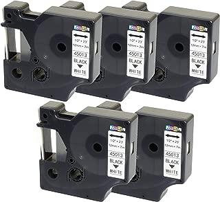 10 Compatibles Casetes TZe-651 TZ-651 negro sobre amarillo 24mm x 8m cintas laminadas para impresoras de etiquetas Brother P-Touch PT-2430PC 3600 9600 9700 9800 D800W E300VP E850 H500 P700 P750W