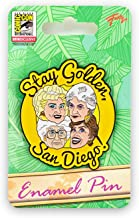 Just Funky Golden Girls Collectibles | Exclusive Enamel Pin | Stay Golden San Diego