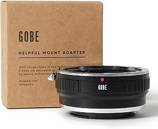 Gobe - Adaptador de Lente Compatible para Lentes Canon EOS (EF/EF-S) y cuerpos de cámara Sony E (con Montaje de trípode)