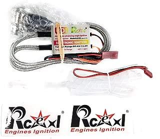 RCEXL Twin Ignition for CM6 10MM 90degree Spark Plug with Hallsensor, 6~14.4V