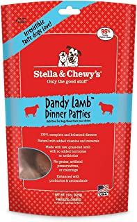 Stella & Chewy Freeze Dried Super Dandy Lamb Dinner Dog Food, 14 ounce bag