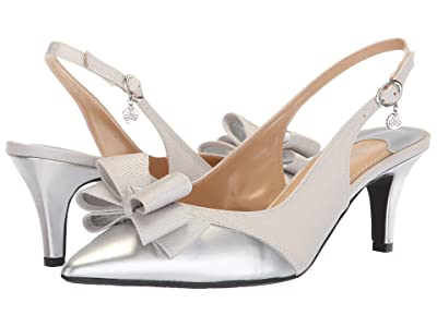 J. Renee Gabino (Silver Powder) High Heels