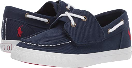 Navy Heavy Twill/Red Pony