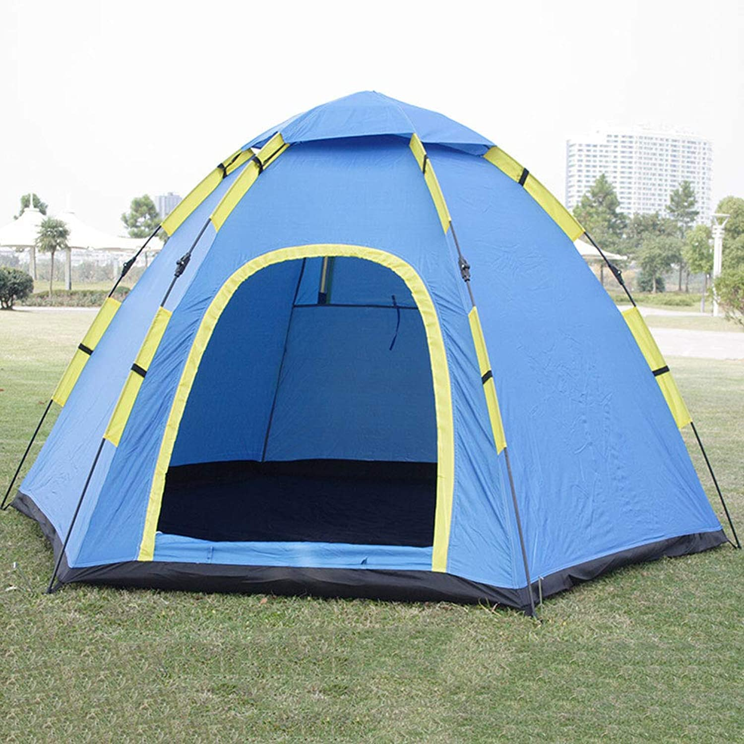 5aa8f8b5ce3c Camping Tent 3-4 People People People [ Ready to use Tent ...