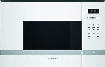 Siemens BF525LMW0 iQ500 Mikrowelle / Elektronikuhr / Seitlich öffnende Drehtür / lightControl / Weiß