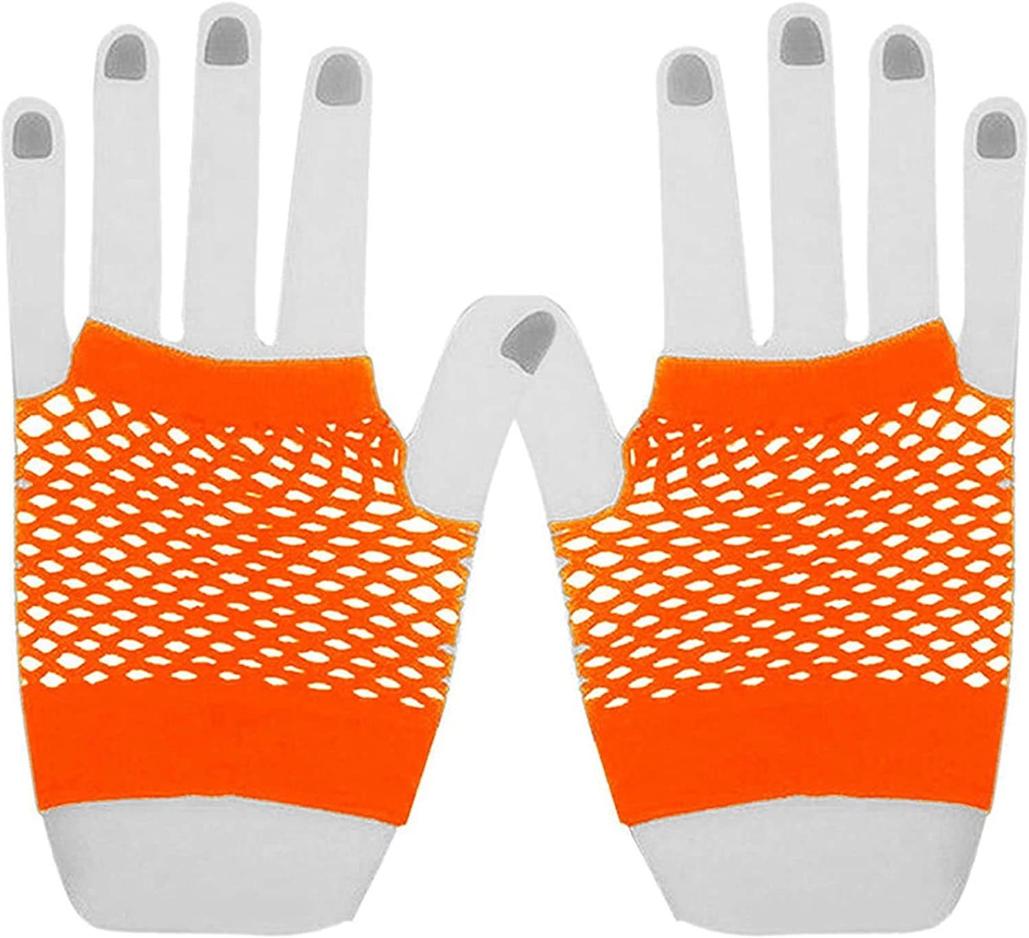 lkpoijuh Candy Colors Net Gloves Without Fingers Max 51% OFF Boston Mall Fingerless Lace
