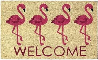 Zings & Thingz 57073884 Pink Flamingo Doormat