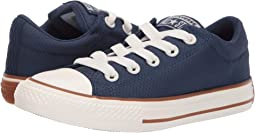 Chuck Taylor All Star Street Pinstripe - Slip (Little Kid/Big Kid)