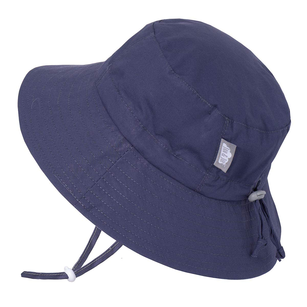 Adjustable for Growth Stay-on Jan /& Jul Baby Toddler Kids Breathable Cotton Bucket Sun-Hat 50 UPF