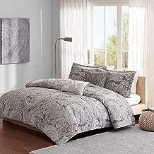 Madison Park Pure MPP10-005 Ronan 5 Piece Cotton Comforter Set, Grey