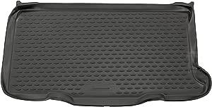 Novline MAT125 Custom Tailored Fit Black Rubber Boot Liner Tray Mat