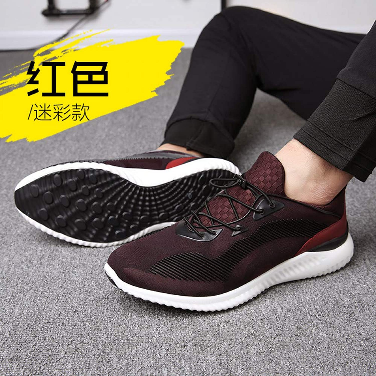 Hasag Sports shoes New Men's shoes Sports Breathable Men's Casual shoes Running shoes Men's