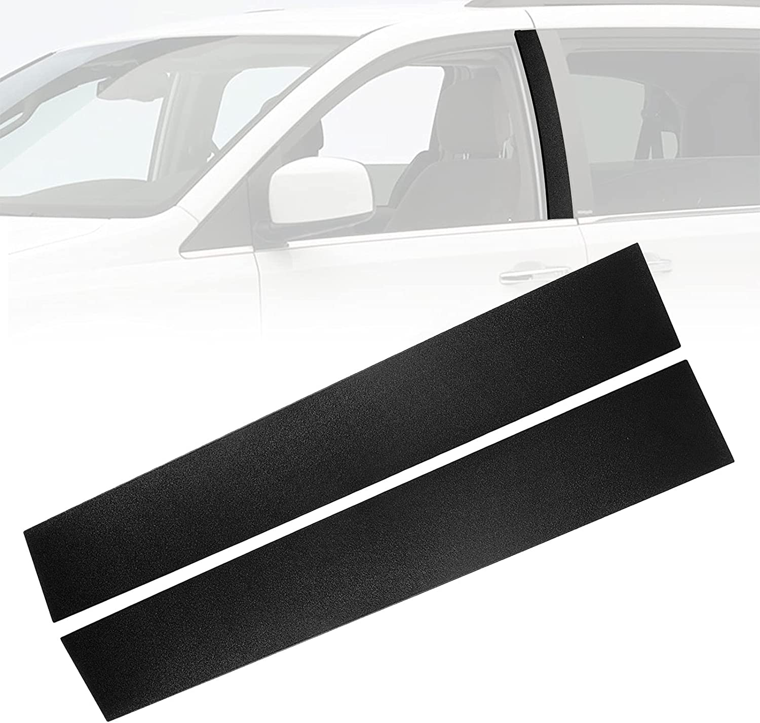 926-445 Driver and Passenger Side Safety and trust B Front Pillar Cover Win Trim Max 43% OFF