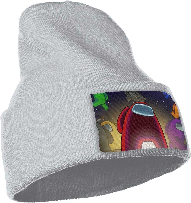 Among Us Novelty Winter Beanie Knit Hats for Boys /& Girls Warm /& Soft Acrylic Beanie Cap