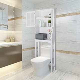 Best free standing over the toilet shelf Reviews