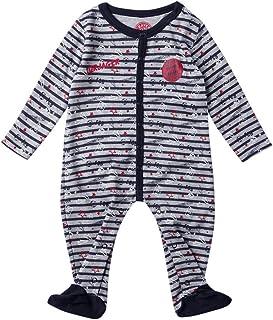 FC Bayern München Baby Strampler Torjäger blau/grau