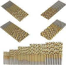 Lorsoul 20pcs Set HSS Torsi/ón Mini Juego de Brocas para Taladro de Mano Taladro Juego de Brocas de Taladro de torcedura de Herramientas de Bricolaje 0.3-1.6mm Di/ámetro