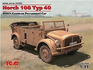 ICM 1/35 第二次世界大戦 ドイツ 重統制型軍用車Typ40 ホルヒ108 後期型