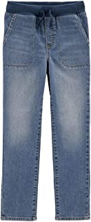 Carter's Boy's Pull-on Straight Jeans Size 14 Blue