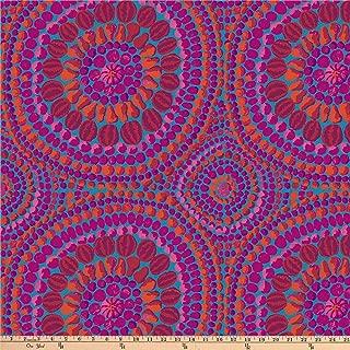 FreeSpirit Fabrics Kaffe Fassett 108'' Quilt Backs Fruit Mandala Fabric, Pink, Fabric By The Yard