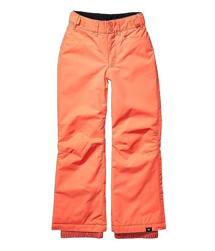 Roxy Kids  Backyard Pants (Big Kids) (Living Coral) Girls Outerwear